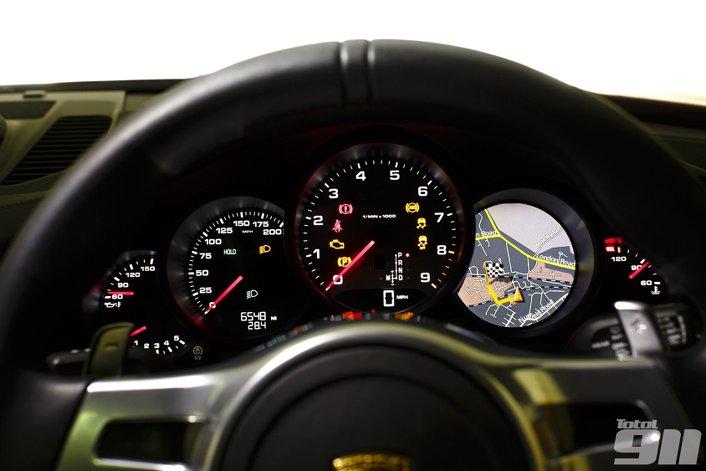 porsche dashboard 911 warning dash lights dial carrera digital rev five display guide diagnostic half symbols fault