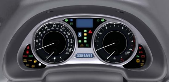 lexus dashboard symbols