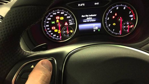 Mercedes C Class W205 Dash Warning Lights