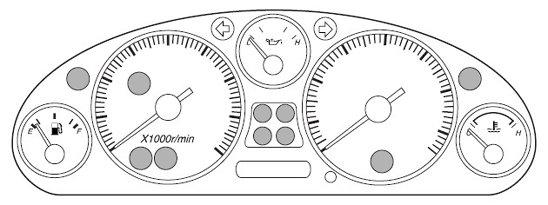 Mazda MX-5 Mk2 Dash Warning Lights