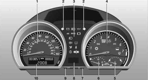 Bmw Z4 E89 Dash Warning Lights