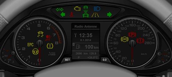 Audi Q5 Dash Warning Light Symbols