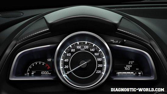 Mazda 2 Demio Mk4 Car Warning Lights