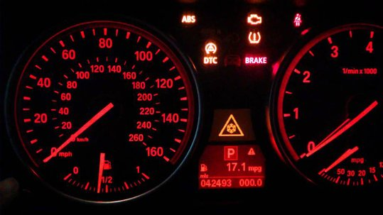 BMW X E Dash Warning Lights - Signs on dashboard bmw