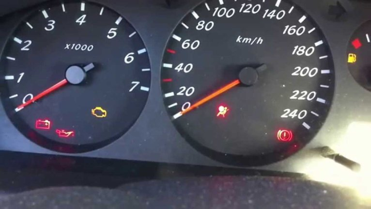 Nissan Almera Mk2 N16 Car Warning Lights