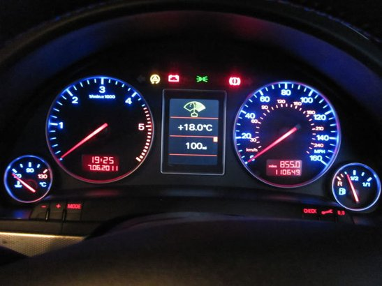 Audi A4 B7 Dash Lights