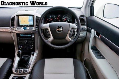 Chevrolet Captiva Dash Warning Lights