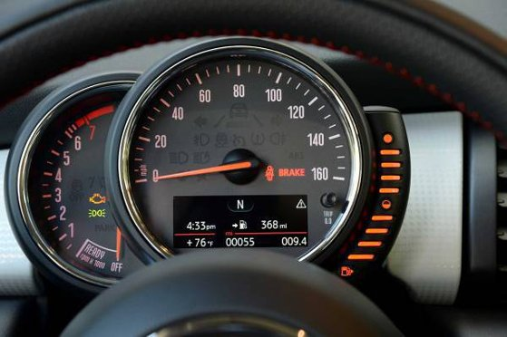 Mini Hatch 3 F56 Dash Warning Lights