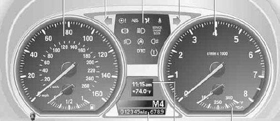 BMW E E E E Series Dash Lights - Bmw 1 series dashboard signs