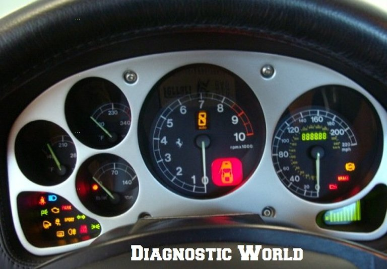 Ferrari 360 Car Warning Lights