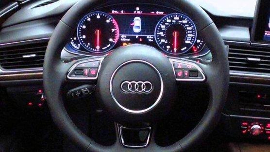 Audi A6 C7 dash warning light symbols
