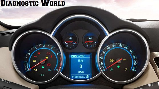 Chevrolet Cruze Mk1 Dash Warning Lights