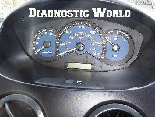 Chevrolet Spark Mk2 Car Warning Lights