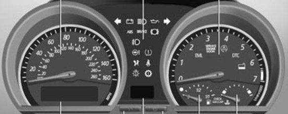 BMW E85 Z4 Car Warning Lights