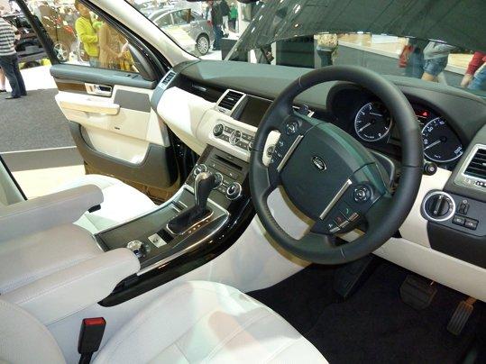 Range rover sport l320 dash warning lights for Range rover sport interior lighting