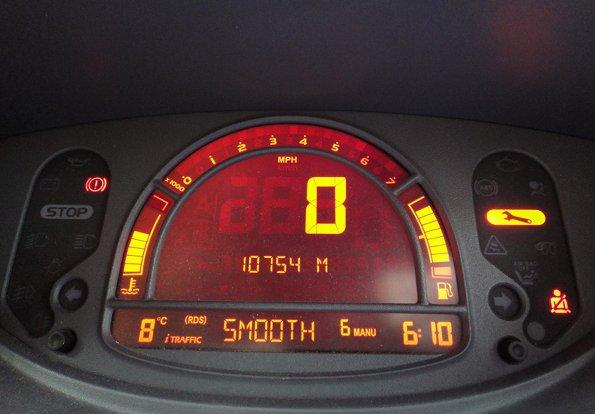 Renault Modus Car Warning Lights