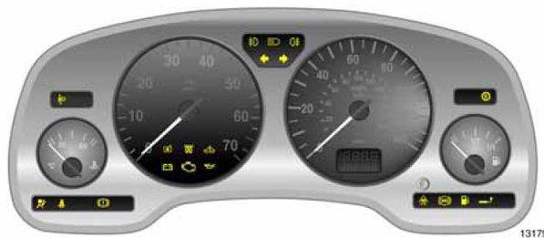 Astra G Dashboard Warning Lights Symbols