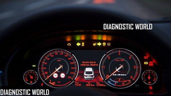 Bmw X6 F16 Dash Warning Lights