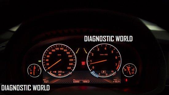 BMW F26 X4 Car Warning Lights